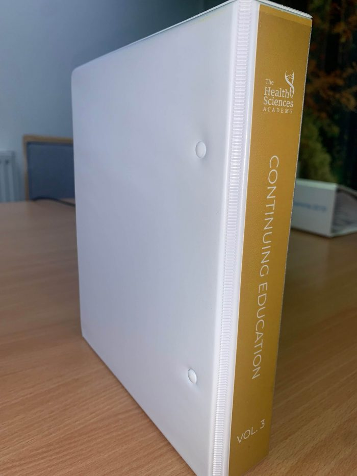 manuals in ring binders